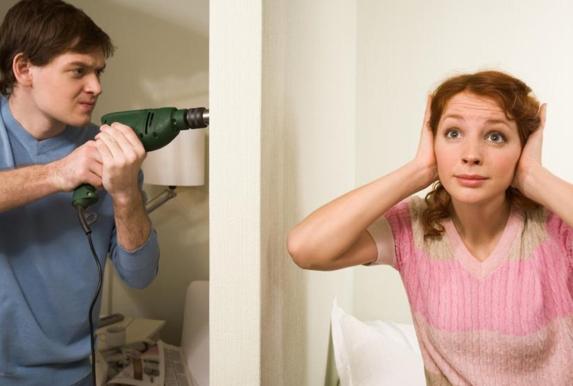 Как быть если соседи шумят?